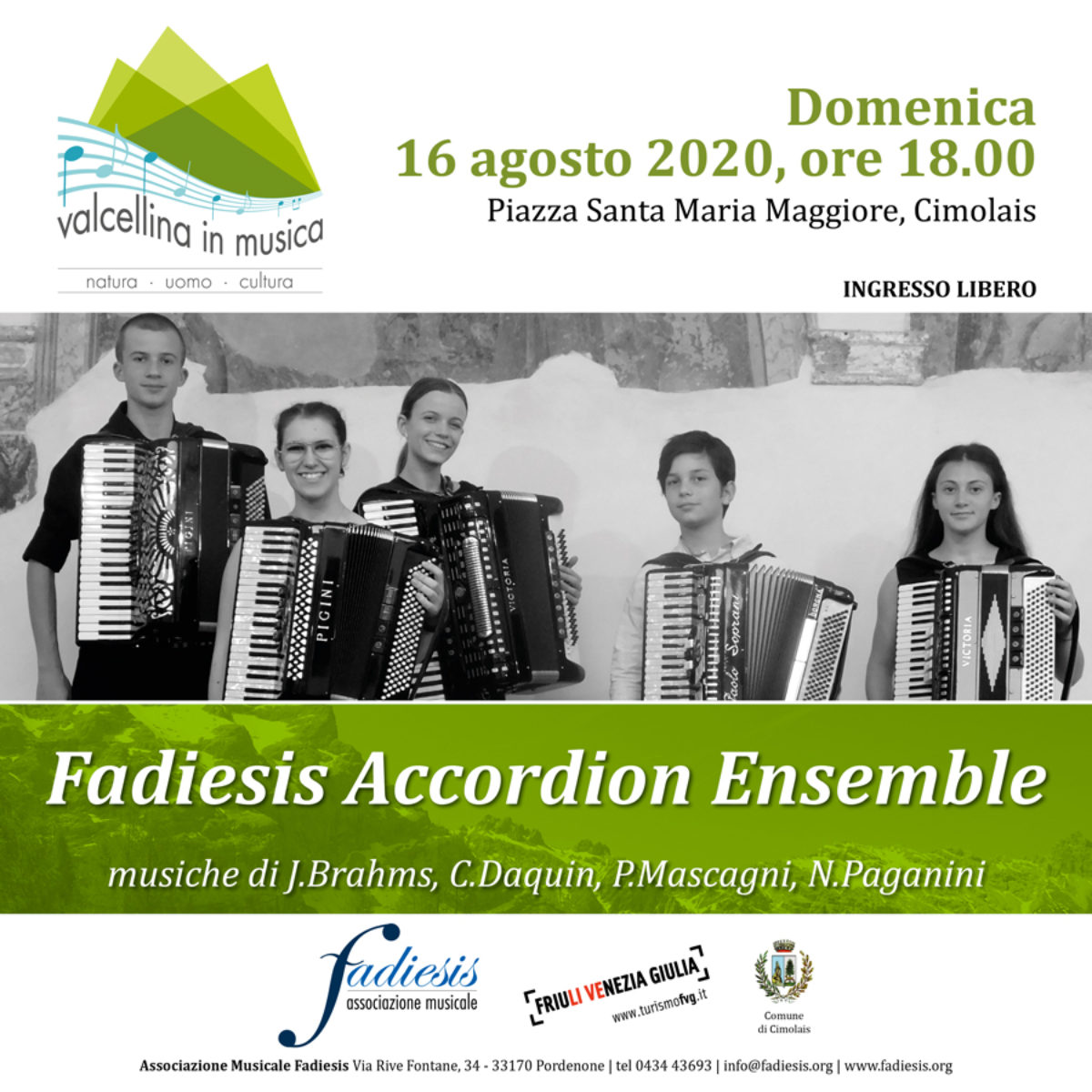 Fadiesis Accordion Ensemble