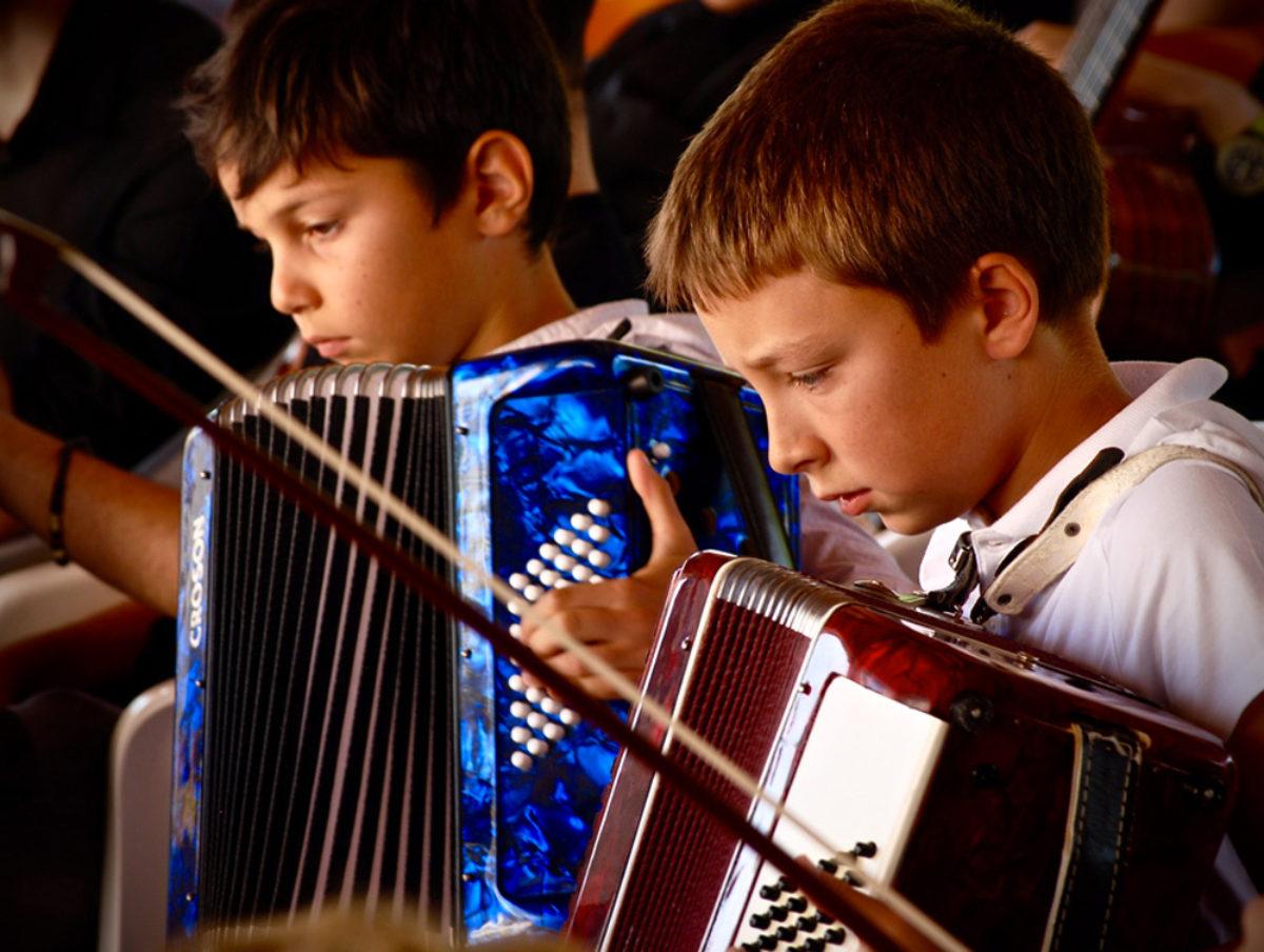 Esibizione degli allievi  della Scuola di Musica Fadiesis